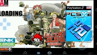 PCSX2 game metal slug Anthology for Android how to download And play