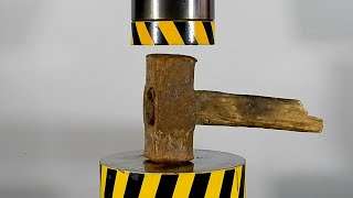 TOP ITEMS THAT HAVE PASSED THE TEST OF A 100 TON HYDRAULIC PRESS