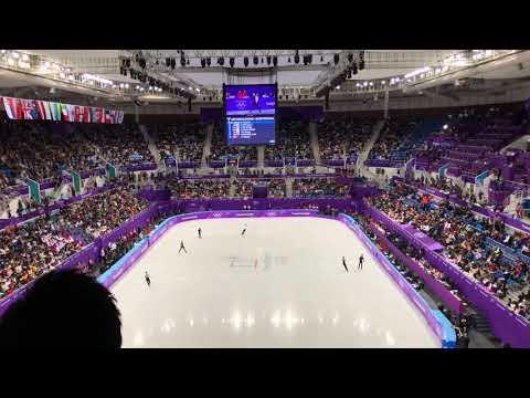 2018 평창동계올림픽 피겨스케이팅 남자싱글 SP 5그룹 웜업