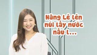 Cười té ghế khi JIN JU đọc tiếng Việt thành... nói bậy