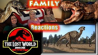 Jurassic Park 2 | The Lost World | FAMILY Reactions | Fair Use