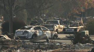 California fires: Santa Rosa, city devastated by flames