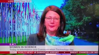 BBC WORLD News - Girls in ICT Day 2017 Interview