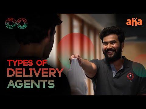 Types of delivery agents: Kudi Yedamaithe ft. Amala Paul, Rahul Vijay