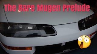 The RARE Mugen Honda Prelude