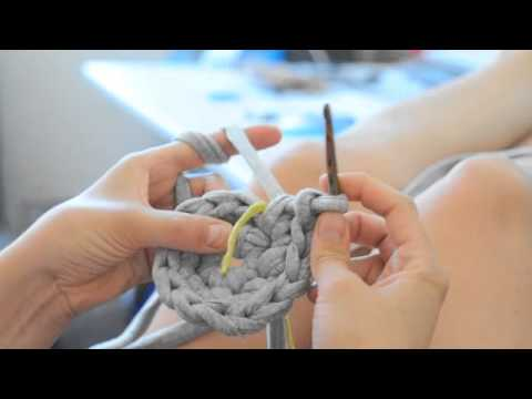 diy schale korb stricken und h keln mit zpagetti teil 1 youtube. Black Bedroom Furniture Sets. Home Design Ideas