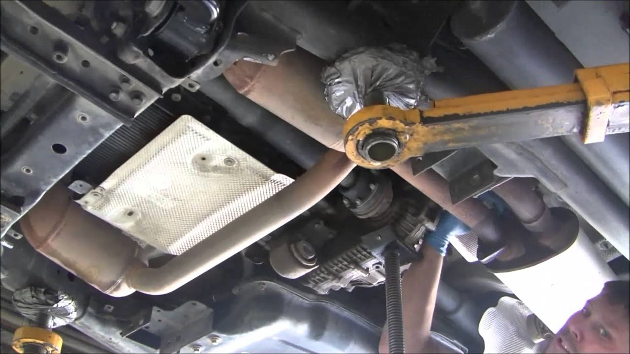 Discovery Lr3 Transmission Filter And Fluid Youtube
