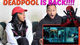 Deadpool 2 'No Good Deed' Teaser REACTION!!!