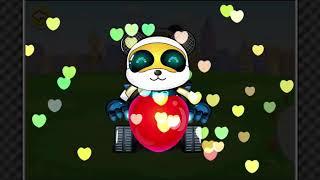 Learn Colors with Panda - Panda Nursery Rhymes  60 52