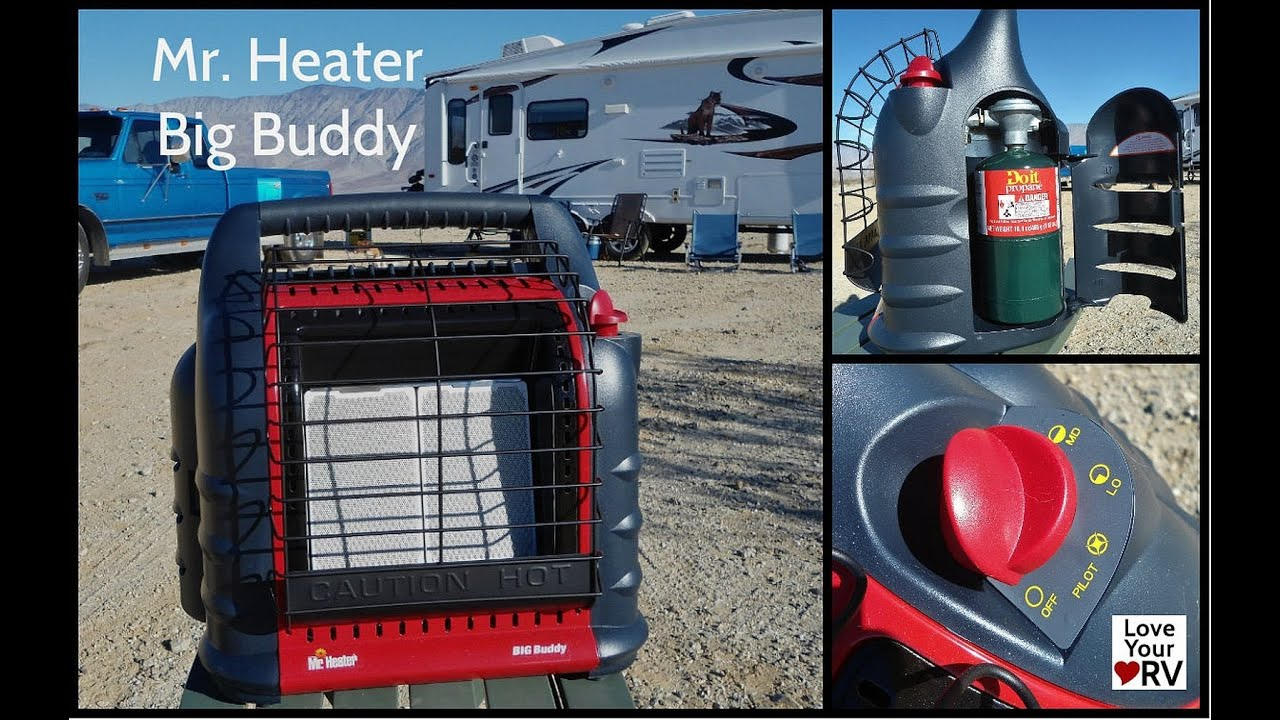 Mr Heater Big Buddy Rv Install Youtube