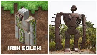 MINECRAFT MOBS IN REAL LIFE  CURSED IMAGES !!! # 1 - MONSTERS