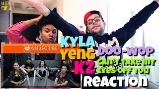 """Kyla, Yeng, and KZ cover """"Doo-Wop / Can't Take My Eyes Off You"""" Reaction"""