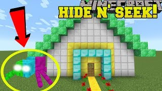 Minecraft: COLORFUL SPIDERS HIDE AND SEEK!! - Morph Hide And Seek - Modded Mini-Game