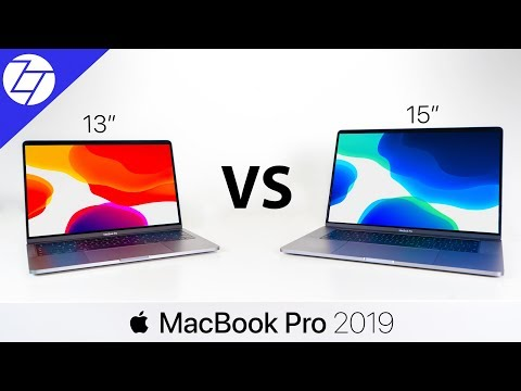 MacBook Pro 13 vs 15 (2019) - The ULTIMATE Comparison!