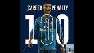 Cristiano Ronaldo 100 Career Penalties
