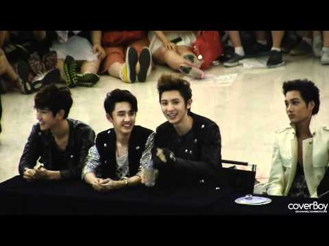 [Fancam] 120525  Happy Virus Chanyeol - Yeongdeungpo fansign event