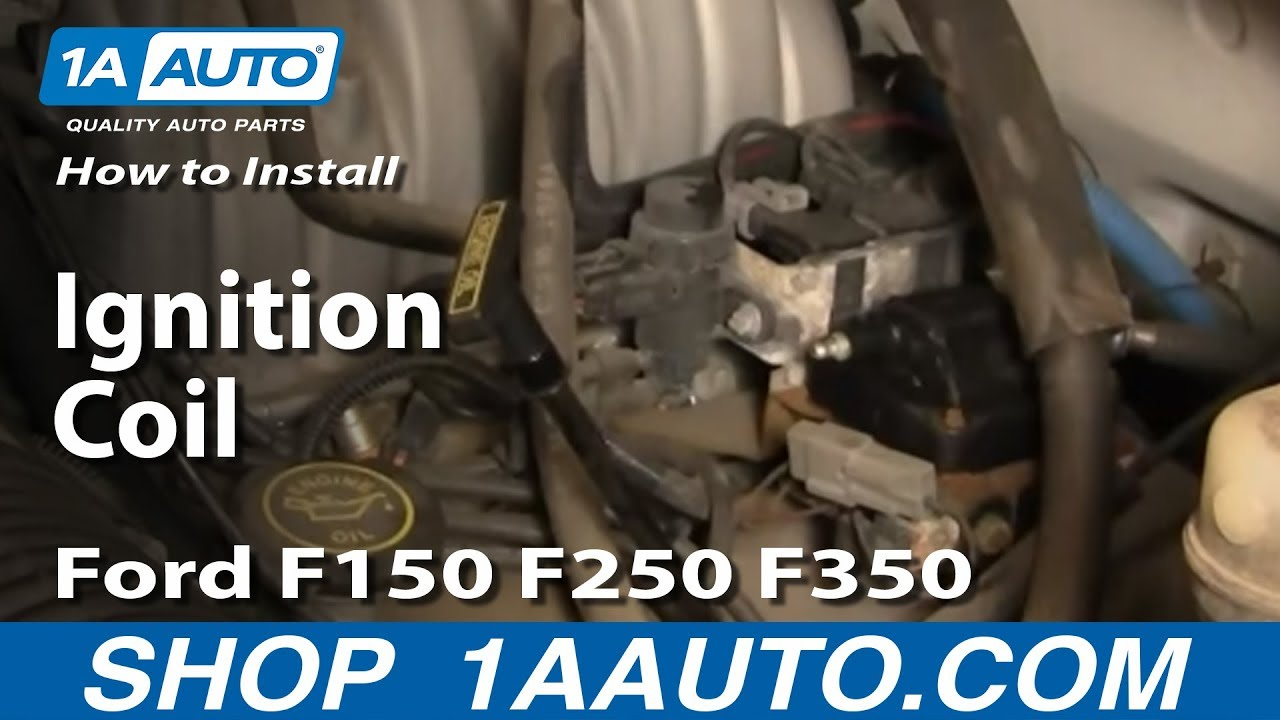 1987 ford f 250 ignition wiring diagram how to install replace    ignition    coil    ford    f150 f250 f350 5  how to install replace    ignition    coil    ford    f150 f250 f350 5