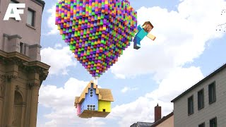 Minecraft in REAL LIFE   3D Animation