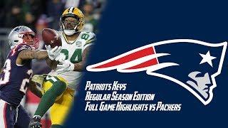 Packers vs Patriots Week 9 Regular Season FULL GAME Highlights