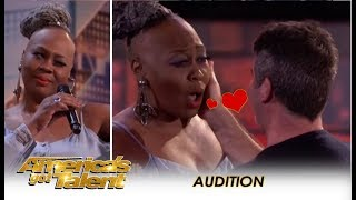 Simon Cowell Falls In LOVE With 'Ms. Trysh' But Then... | America's Got Talent 2018