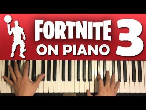 FORTNITE DANCES ON PIANO (PART 3)