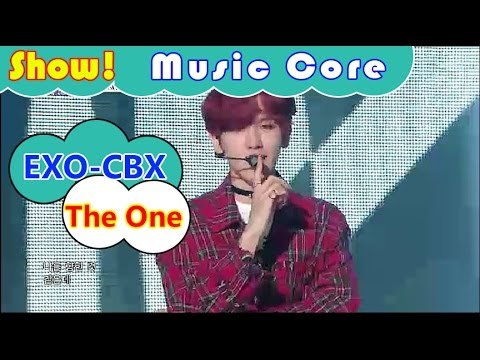 [HOT] EXO-CBX - The One, 첸백시 - 더 원 Show Music core 20161105