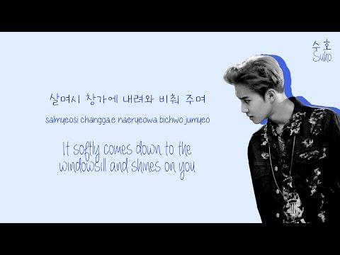EXO (엑소) - She's Dreaming (꿈) Lyrics (Color-Coded Han/Rom/Eng)