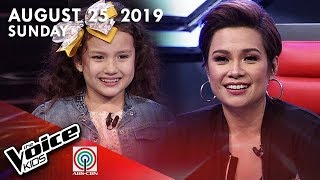 The Voice Kids DigiTV | August 25, 2019