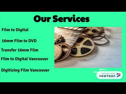 Convert 16mm Film Into High Quality DVD Format at Low Cost