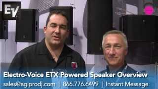 ELECTRO-VOICE ETX-18SP  Subwoofer in action
