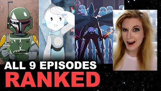 Star Wars Visions SPOILERS - All Episodes RANKED Best to Worst