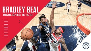 Highlights: Bradley Beal vs. Timberwolves - 11/15/19
