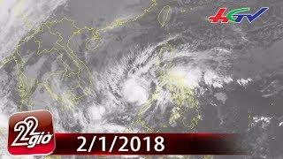 Áp thấp nhiệt đới có thể mạnh lên thành bão khi tới Trường Sa   CHUYỆN 22 GIỜ - 2/1/2018