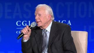 Closing Conversation: President Bill Clinton and President Jimmy Carter - CGI America 2016