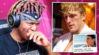 Reacting to Logan Paul's End Of Year Video