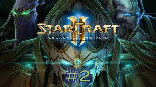 Let's Play Starcraft 2 Legacy of the Void #2 - Geister im Nebel