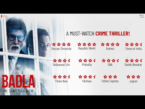 Badla | Official Trailer (2019)