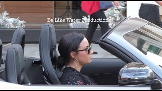 Demi Lovato enjoys her Christmas gift a New 2018 AMG GT C Coupe‎!!! - Subscribe