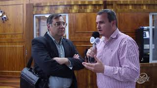 Direção do Tacchini vai a Câmara de Carlos Barbosa