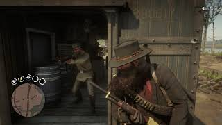 Red Dead Redemption 2 - Hot Train Action...