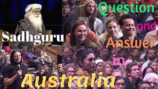 /sadhguru wonderful question and answer session in australia
