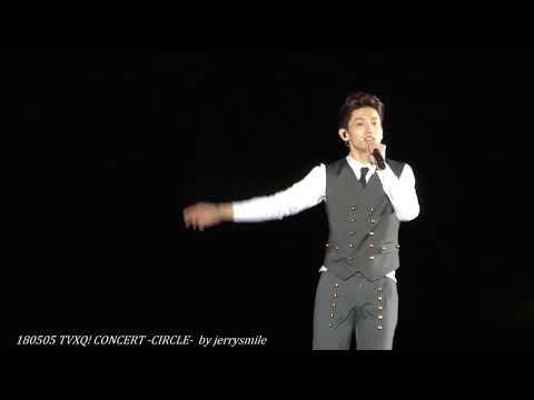 [4K] 180505 TVXQ! CONCERT -CIRCLE- / 믿어요 (Mideoyo) changmin Focus