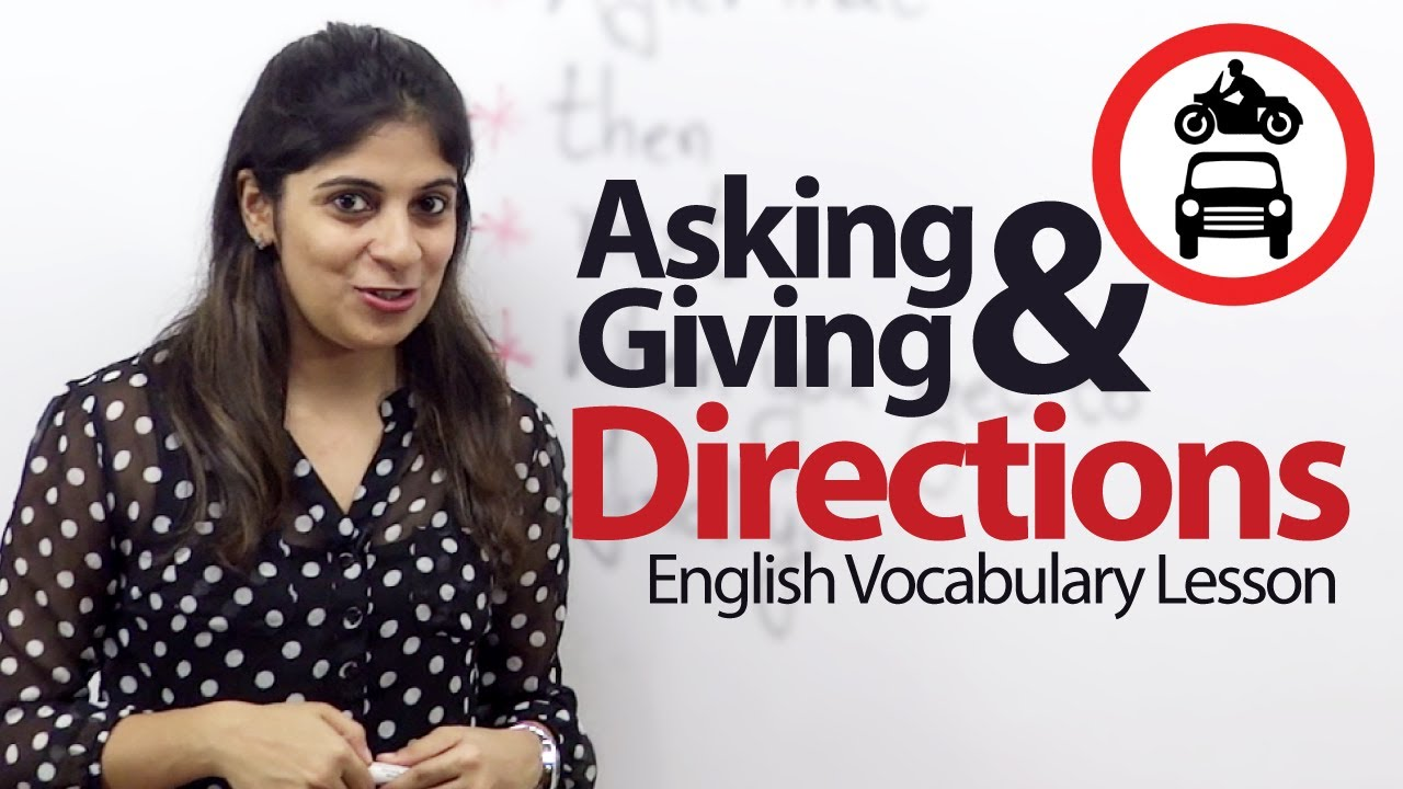 English In Italian: Asking & Giving Directions In English