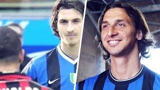 Zlatan Ibrahimovic's beautiful reaction when he met his idol | Oh My Goal