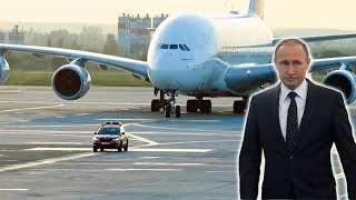 How Russian President Vladimir Putin Travels with Style