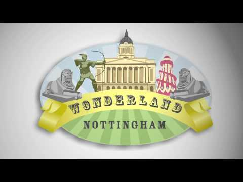 Wonderland - Animated Logo - By animatID