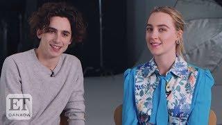 Timothee Chalamet, Saoirse Ronan Talk Chemistry