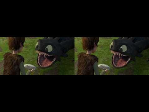 Как Приручить Дракона. (Трейлер - 3D Версия)