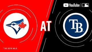 Blue Jays at Rays | MLB Game of the Week Live on YouTube