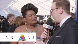 OITNB: Adrienne C. Moore's Message To Her Fans With Matt Bellassai   SAG   INSTANT